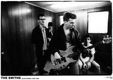 "The Smiths - Backstage at Glastonbury 1984  -   33"" x 24""  B&W POSTER"