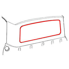 New 61-66 Ford F100 Pickup Backglass Weatherstrip