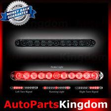 "03-16 GMC Sierra 1500+2500+3500+HD 15"" Mini Smoke Lens LED Tailgate Light Bar"