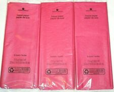 American Greetings Pink Tissue Paper - Lot of 3 6 Sheets/Pack