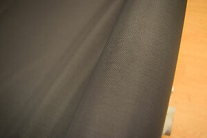 AWNIEXHeavy duty polyester mesh vinyl encapsulaed yarn class A graphite color+