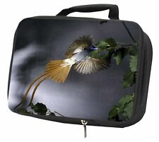 More details for humming bird black insulated school lunch box bag, ab-91lbb