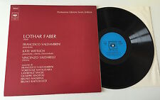 "LP 12"" STEREO LOTHAR FABER OBOE CONTEMPORANEO VALDAMBRINI WITTLICH SALDARELLI"