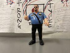 WWF The Big Boss Man Hasbro Wrestling Figure WWE 1990 Series 1 WCW 1990 NICE