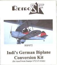 RetroKits Models 1/72 INDI'S GERMAN BIPLANE Resin Conversion Kit