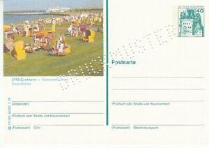 P 125 Bildpostkarte Imprimer Échantillon Cuxhaven