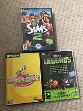 PC Game Bundle - Tiato Legends - Ms Pac-Man - The Sims 2 - Retro Gaming