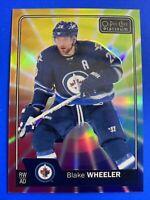 2016-17 OPC Platinum Rainbow Color Wheel #26 Blake Wheeler Winnipeg Jets