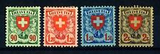SWITZERLAND - SVIZZERA - 1924 - Croce e scudo