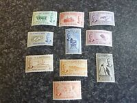 FALKLAND ISLANDS POSTAGE & REVENUE STAMPS SG172-181 LIGHTLY MOUNTED MINT
