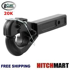 """CURT 20K TRAILER HITCH RECEIVER MOUNT PINTLE HOOK FOR 2"""" OPENING  48004"""