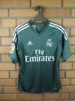 Real Madrid Goalkeeper Jersey 2018 2019 Adizero Youth 13-14 Shirt Soccer Adidas