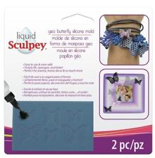 Liquid Sculpey Geo Butterfly Silicone Mould For Sculpey Liquid Polymer Clay