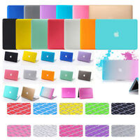 """Rubberized Case Keyboard Cover For Apple Macbook Air 13"""" 11"""" Pro Retina 13 15 16"""