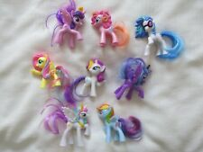 2014 McDonalds My Little Pony G4 complete SET 8 FIGURES MLP¤LUNA¤Rarity¤PRINCESS