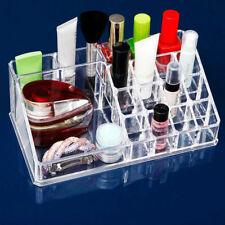 Acrylique Maquillage Rangement Cosmétique Boîte avec 6 Cube Tiroirs & 3 Couche