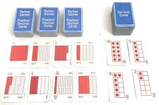 "Children's Educational Math 350 ""Partner Games"" Cards & 150 ""Grid Cards"" C19"