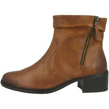 45f57994c631 Rieker Eagle Schuhe Antistress Women Damen Stiefel Stiefelette brown  77672-24