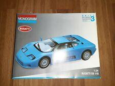 MONOGRAM BUGATTI EB 110 1/24 MODEL 2436 (1993)