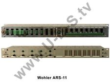 Wohler Technologies ARS-11 - 5 Stereo Inputs to 1 Stereo Output Analog Audio