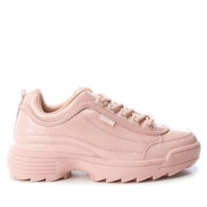 XTI Mujer Zapatillas Vestir Deporte Bambas Casual 23560