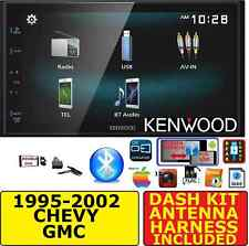 95-02 GM TRUCK/SUV KENWOOD SCREEN MIRROR BLUETOOTH USB  CAR STEREO RADIO PKG