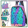 ××Geometric Women Tote Bag Holographich Purses and Handbags Crossbody for Women