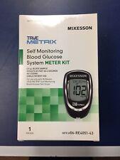 McKesson TRUE METRIX® Self Monitoring Blood Glucose System Meter Kit EXP 6-30-21