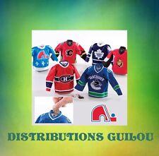 QUEBEC VINTAGE Mini Hockey Jersey Coin Bank...62717