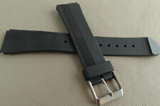 New Mens Timex Black Water Resistant 19mm Watch Band Fits LED, Sport Digital