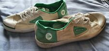 Well Worn Dunlop Greenflash Trainers Size 9.5