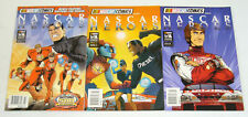 Nascar Heroes #1-3 VF/NM complete series library collection comics set 2 car