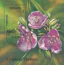 Timbre Flore Tanzanie BF250 o lot 2988