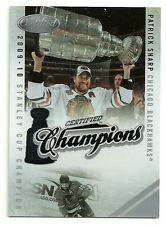 2010-11 Certified Champions Patrick Sharp #d 283/500