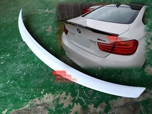 Painted BMW 2014~2019 F82 M4 coupe performance type Trunk Spoiler All Color ◎