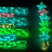 210pc Luminous Lucky Wish Star Folding Origami Paper Glow in the dark Craft Gift