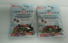 Lot of 2 DISNEY INFINITY Power Disc Packs Series 1 Unopened Free Shipping 2.0
