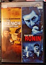 French Connection & Ronin Double Feature w/Classic Chase Scenes-Hackman-DeNiro