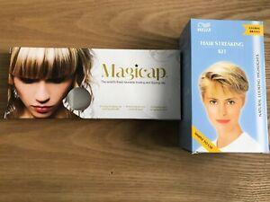 Wella Hair Streaking Kit - Natural Blonde and Magicap
