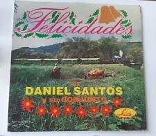 Daniel Santos Felicidades Lozano Records VG+ LP #4268