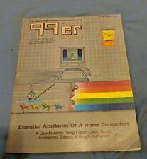 Rare 1982 * 99'ER MAGAZINE VOL 1, No. 6 TI-99/4A ARTICLES & PROGRAMS Sixth Issue