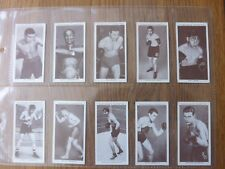 BOXING PERSONALITIES - Complete Set of 50 - Churchmans - 1938 - EX/EX+