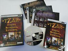 TZAR EDICION ORO 3 JUEGOS JUEGO PC ESPAÑOL CD-ROM FX INTERACTIVE