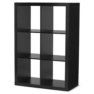 Vinyl Record Storage Bin 6 Crate Album Rack Stand Shelf Cube Furniture Cabinet