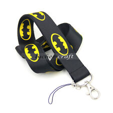 Cute Batman SuperheroNylon Neck Strap Lanyard Keychain Phone Camera Holder Gift