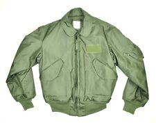 ALPHA Cold Weather Flyer's Jacket CWU-45/P LARGE Nomex Fire Resistant Aramid EUC