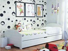 MDF/Chipboard Matt Effect Children's with Storage Bed Mattresses