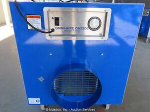 2018 Omni-Aire OA2200UL Negative Air Filtration System Machine 2,000 CFM bidadoo