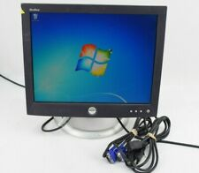 "DEll 1504FP 15"" LCD Flat Panel Monitor Display VGA w/ Cords Grade B"