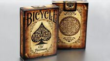 Bicycle Ancien(ne) Parchment À Jouer Cartes Poker Cartes De Jeu